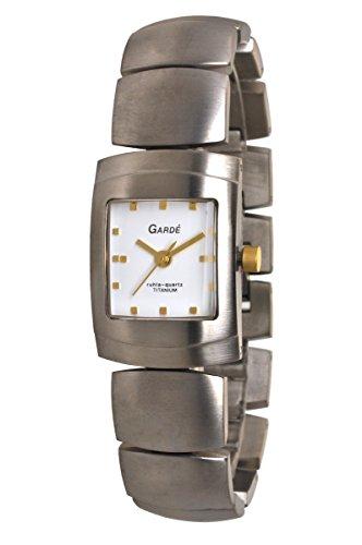 Garde (by Ruhla) Uhr Damen Titan Armbanduhr Modell Elegance