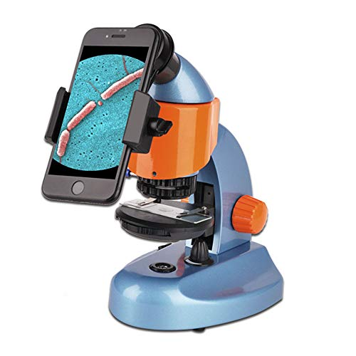 Landove 40X-200X Zoom Compound&Stereo Monocular Microscope for Student and Kids Education, with LED Light and Smartphone Holder by Landove (Image #6)