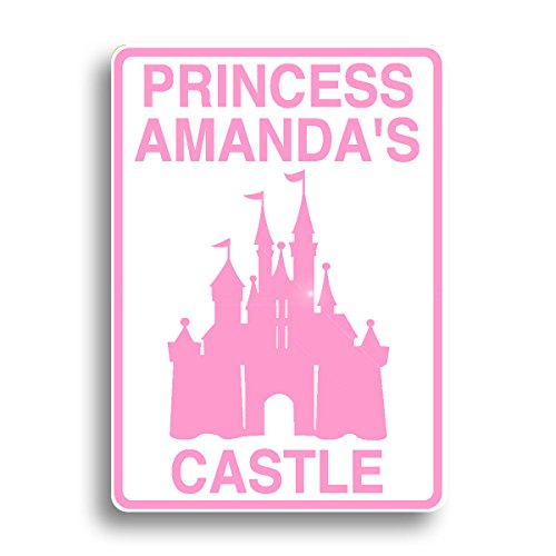 Princess castle sign personalized and shipped fast!]()