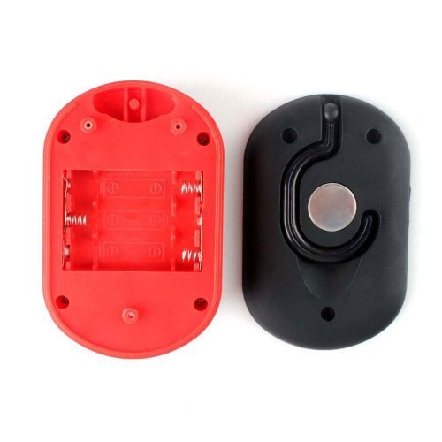 HUAJI 27 LED Work Light Hook Hanging Light Flashlight with 2 Light Modes