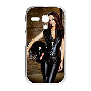 Celebrities Jennifer Metcalfe Motorola G Cell Phone Case White phone component AU_461289