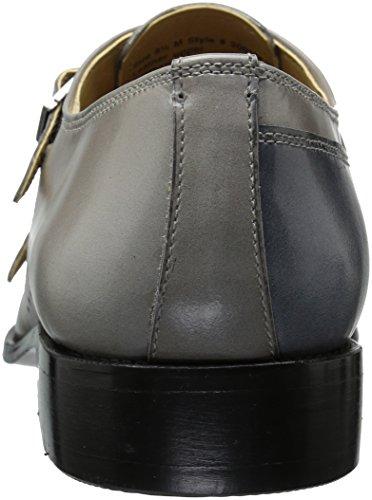 Dark Brutini Loafer Gray On Gray Slip Giorgio Light carbonne Mens YXHw1x