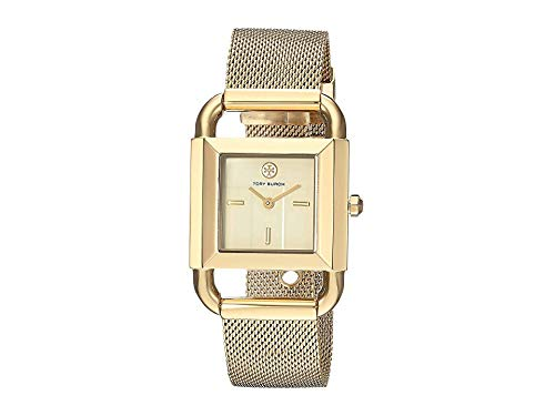 Tory Burch Women's The Phipps Watch, Gold/Ivory, One Size (Watch Tory Burch Gold)