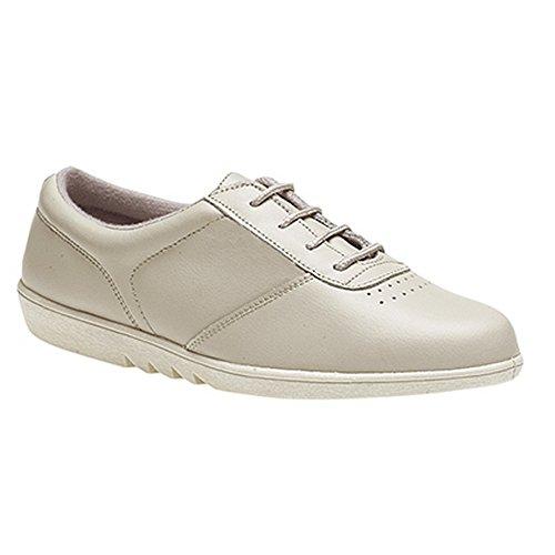 Chaussures Ville En De Cuir Blanc Boulevard Femme gA8RnRx