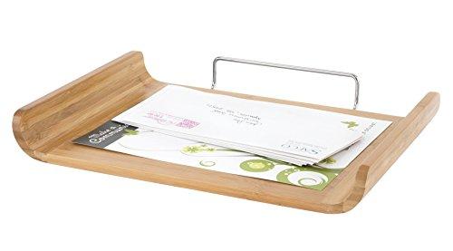 UPC 073555364057, Safco Products Bamboo Desktop Organizer, Single Tray, Cherry, 3640CY