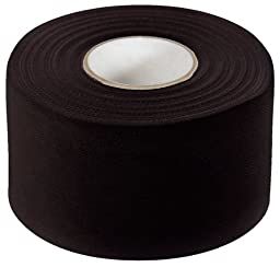 McDavid Zinc Oxide Two Pack 10-Yard Rolls Athletic Tape, Black