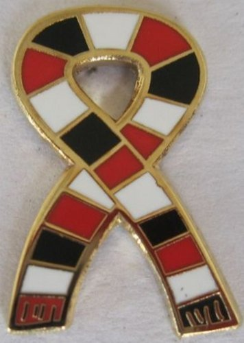 A.C. Milan GOLD plated 1960's Retro Style Football Scarf Pin Badge
