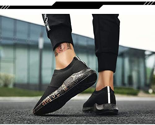SIWENO Scarpe da Uomo Outdoor Trainers potenzia Traspirante Casual Superstar Shoes Human Race