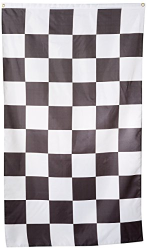 Checkered Flag 3x5 3 x 5 Brand NEW Racing Black & -