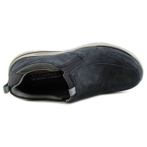 Skechers Corven-Espino Uomo Pelle Mocassini