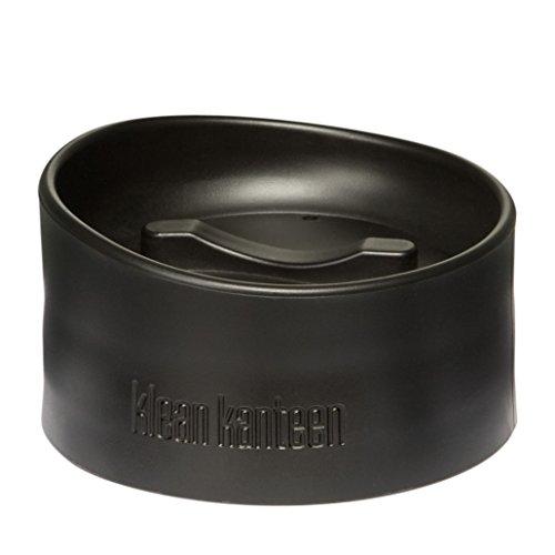 Klean Kanteen Cafe Cap 2.0, Leak Proof Wide Mouth Coffee Mug Cap,Black,One Size