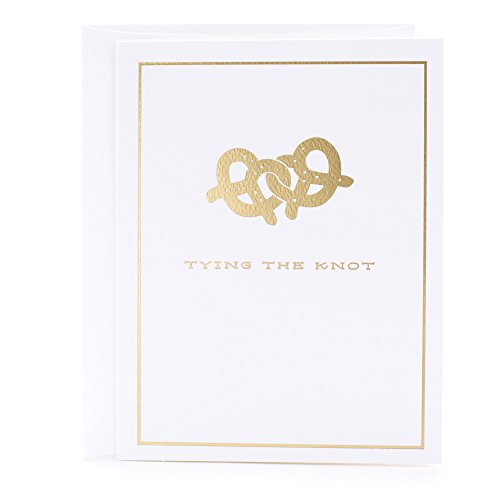 Hallmark Wedding Card (Pretzels) ()