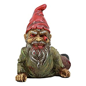 Ebros Walking Dead Severed Body Zombie Gnome Crawling On The Floor Statue 7long For Creepy Spooky Undead Underworld Halloween Sculpture Prop At Home Patio And Garden Decor