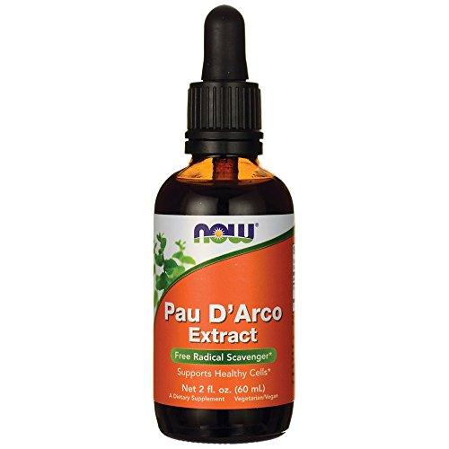 NOW Pau D'Arco Extract Liquid,2-Ounce