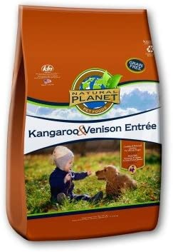Natural Planet Dog Food-Kangaroo Venison 25lb