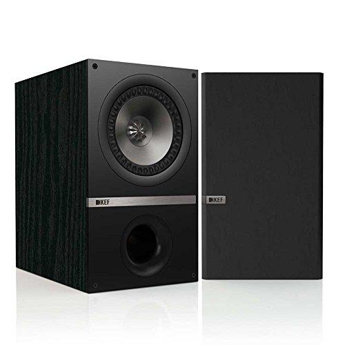 KEF Q300 2-Wege Bassreflex-Regallautsprecher (120 Watt) schwarz (Paar)