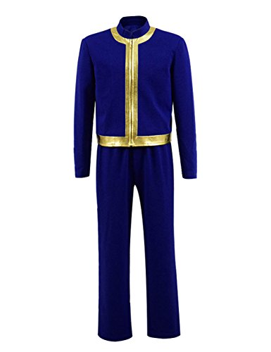 Survivor Nate Costume Halloween Game Cosplay Blue Outfit Jumpsuit for Men (Small, Blue 2) -
