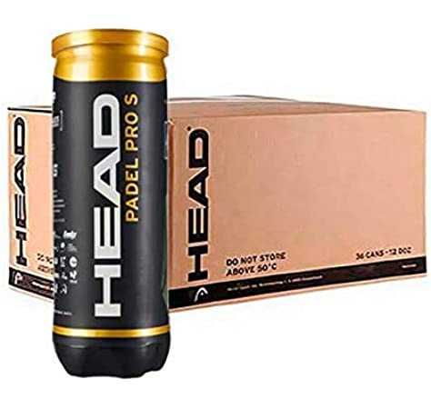 Head Pro S Caja 24 Pelotas Padel, Juventud Unisex, Amarillo, M: Amazon.es: Deportes y aire libre