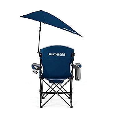 Sport-Brella Recliner Chair, Midnight Blue