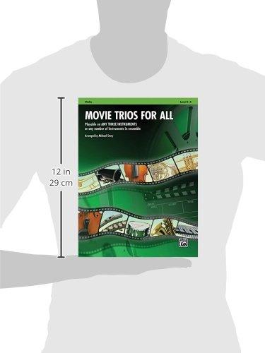 Movie Trios for All: Violin (Instrumental Ensembles for All)