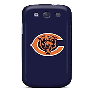 Shock Absorption Hard Phone Cover For Samsung Galaxy S3 (atD8930vKxb) Customized Beautiful Chicago Bears 2 Skin
