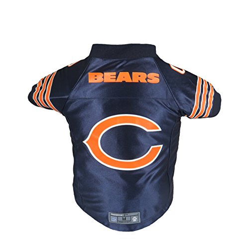 Chicago Bears Nfl Jersey - Littlearth NFL Chicago Bears Premium Pet Jersey, XL