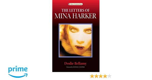 Amazon The Letters Of Mina Harker Library American Fiction 9780299206741 Dodie Bellamy Dennis Cooper Books