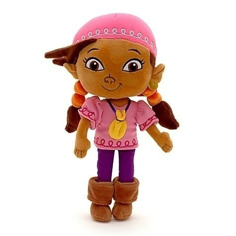 Disney Exclusive Jake and The Neverland Pirates 12 Inch Plush Izzy ()