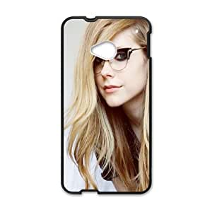 Geeky Avril Lavigne HTC One M7 Cell Phone Case Black&Phone Accessory STC_000711