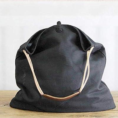 Amazon.com: Szblk Bolsa de cáñamo bolsa de hombro cruzada ...