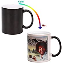BOB Coffee Mug, 12 oz Heat Changing Painting Mug Color Changing Cup Best Gift