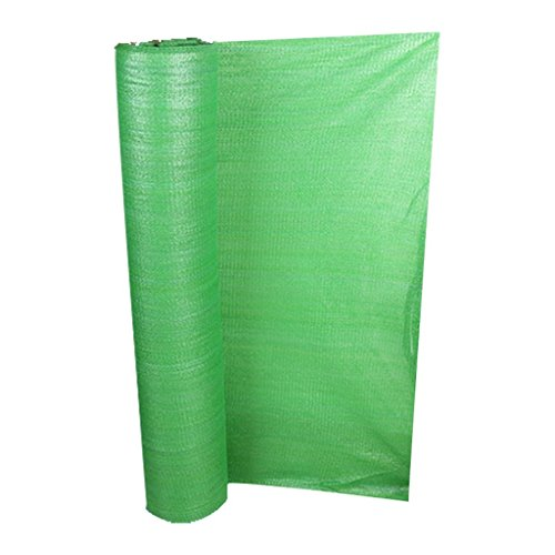 Whole Roll For Sale Green Shading Net 6-pin Encryption Sunscreen Dust-proof Covering Net Slope Protection Net (Size : 3 meters wide x 50 meters ()