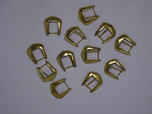 - JumpingLight Vintage Gold Belt Buckles for 22mm Wide Belt Lot of 12 A222 Perfect for Crafts, Scrap-Booking, Jewelry, Projects, Quilts