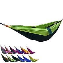 Portable Camping Nylon Fabric Outdoor Travel Parachute Hammock