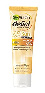 Garnier Sun Crema BB Protectora con Color , FPS50 - 50 ml