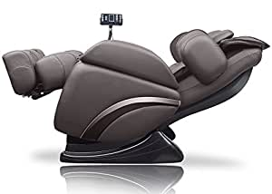 ideal massage Full Featured Shiatsu Chair with Built in Heat Zero Gravity Positioning Deep Tissue Massage - Brown