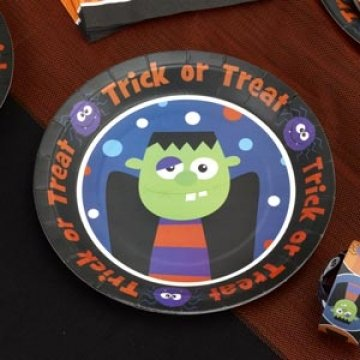 Trick or Treat - Plate Pack of -