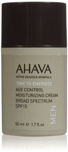 AHAVA Time à dynamiser son Age Control crème hydratante pour les hommes, 1,7 oz liq.