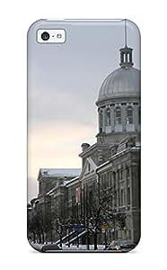 Hot Design Premium ARKJXSM11692LVwvU Tpu Case Cover Iphone 5c Protection Case(vieux Montreal)