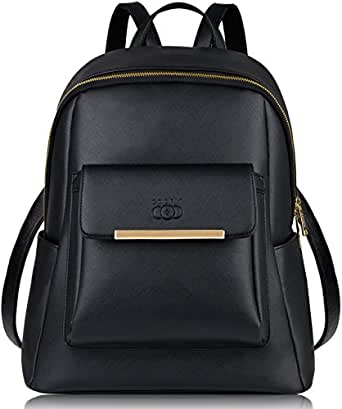 Amazon.com   Leather Backpack, COOFIT Backpack Purse