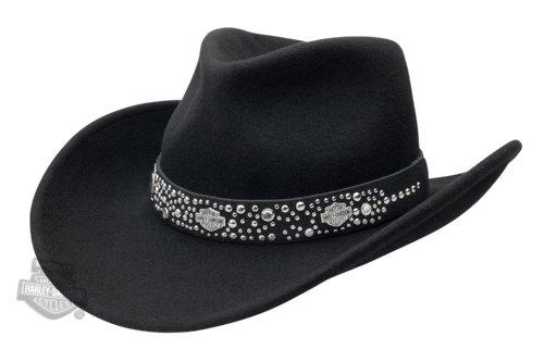 Harley-Davidson Womens Cowboy Hat