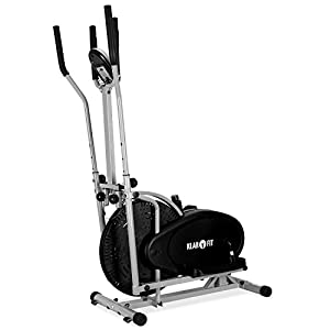 Klarfit ORBIFIT ADVANCED Hometrainer lauffreudiger Crosstrainer inkl....