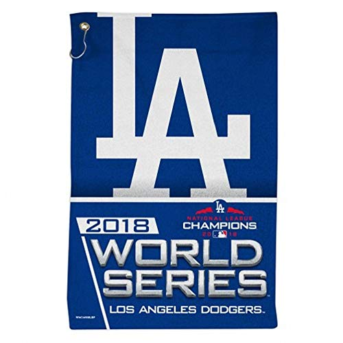 WinCraft Los Angeles Dodgers 2018 World Series 16 X 25 Sports Towel