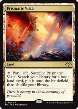 Magic: The Gathering - Prismatic Vista - Modern Horizons (Prismatic Pack)