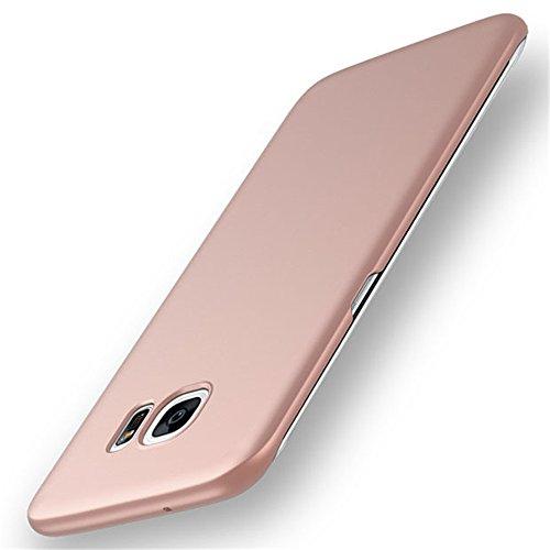 AICOO Galaxy S7 Case, Ultrathin Anti-Fingerprints Non-Slip Hard PC Phone Case Cover for Samsung Galaxy S7 G9300, A1 Rose Gold