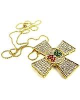 Elvis Presley Maltise Cross Pendant Necklace