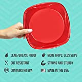 Solo Plastic Party Plates, Red, 10 Inch, 120