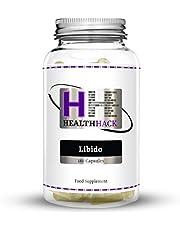 Health Hack - Cápsulas Libido, hombre, 180 cápsulas