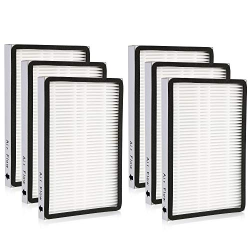 Cabiclean 6-Pack 86889 HEPA Filters for Sears Kenmore Vacuums & Panasonic Uprights Vacuums