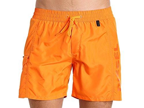Diesel Men's Wave-E Shorts KAKV Orange Swim Trunks SM (Men's 29-31)